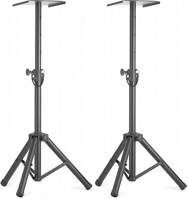 £69 • Buy Stagg SMOS-20 Height Adjustable Monitor Speaker Stand Studio Tripod Foldable X2