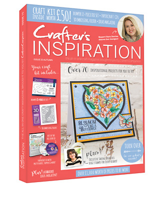 £8.70 • Buy Crafters Inspiration Issue 15 Crafters Companion Autumn Edition £50 Free Gifts *