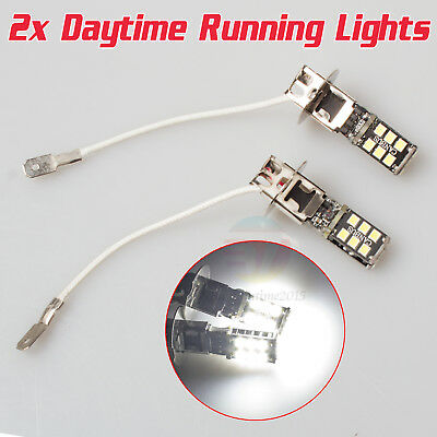 AU16.89 • Buy 2x H3 Super Bright 15 SMD 2835 LED Car Fog DRL Driving Light Lamp Globe White AU