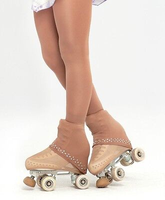 Semi Over The Boot Ice Roller Skating Tights+trim In **5mm** Swarovski Elements • 18.50£