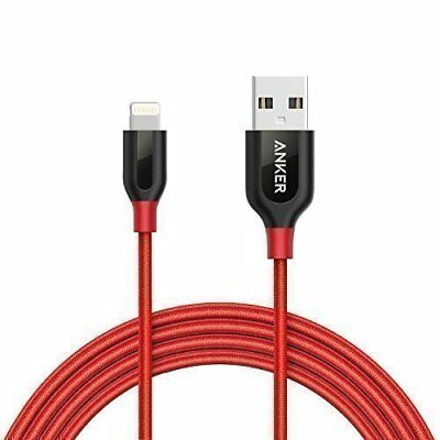 AU34.71 • Buy IPhone Cable Anker PowerLine  Lightning Cable 1.8m  6ft  Durable And Fast Chargi