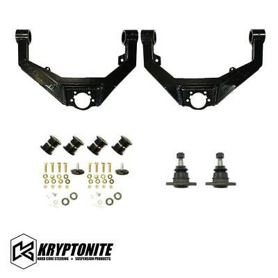 $522.49 • Buy Kryptonite Upper Control Arm Kit For 2001-2010 Chevy GMC 2500HD 3500HD Pickup