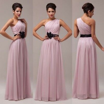 £19 • Buy Grace Karin Long One Shoulder Dress Size 10- 12 Brand New With Tags Bridesmaids