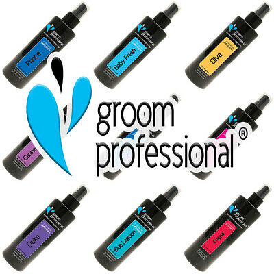 Groom Professional Scent Cologne Perfume Deodorant Dog Puppy Spray Baby Fresh • 12.99£