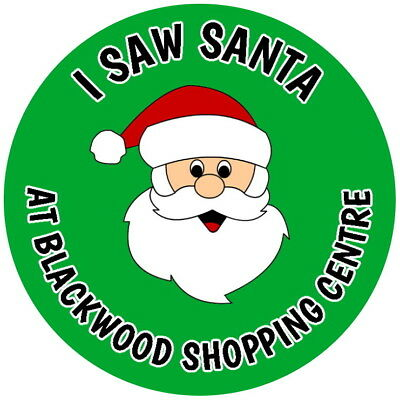 £2.40 • Buy  Personalised I Saw Santa Gloss Green Christmas Grotto School Business Stickers