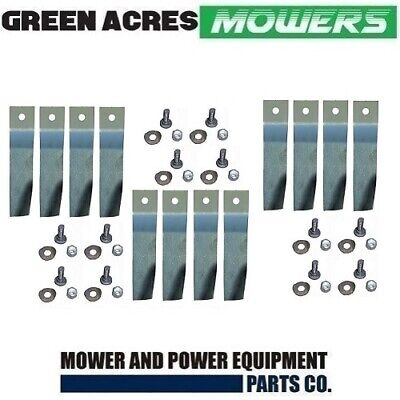 AU49.50 • Buy 6 Pair 32 Inch Cox Ride On Lawn Mower Blades  Stockman, Nova High Flute, Skit55n