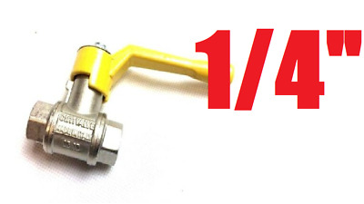 £25.99 • Buy On/Off Switch Gas Valve Handle For Chinese Wok Cooker Made In Italy (DN10 PN100)