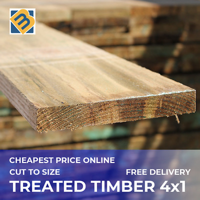 £27.90 • Buy Treated Timber 4x1 Tanalised Pressure Treated Timber C16 C24 22mm X 100mm Timber
