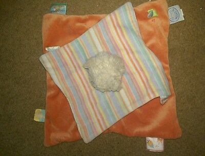 £9.99 • Buy NOUKIE'S Orange Two-ply Bear Comforter Excellent Condition.