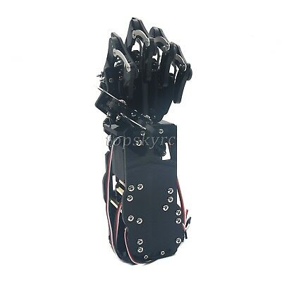 Robot Mechanical Arm Claw Humanoid Left Hand With Servos For Robotics Assembled • 93.55£