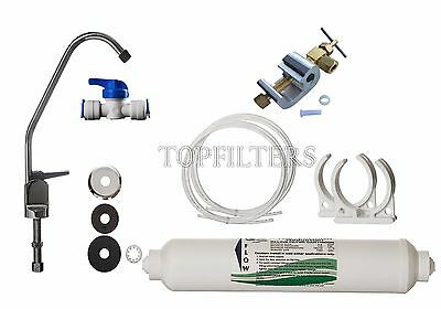 Under-sink Drinking Water Tap Filter System Kit Including Faucet & Accessories  • 16.95£