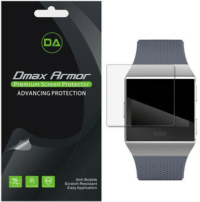 $ CDN10.06 • Buy [6-Pack] Dmax Armor Full Coverage Clear Screen Protector For Fitbit Ionic