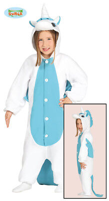 AU21.97 • Buy Unicorn Jumpsuit Costume Childrens Blue
