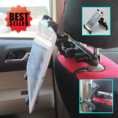 Universal Back Seat Car Holder Mount For IPad 1 2 3 4, Air & 7  To 12  Tablet • 7.99£