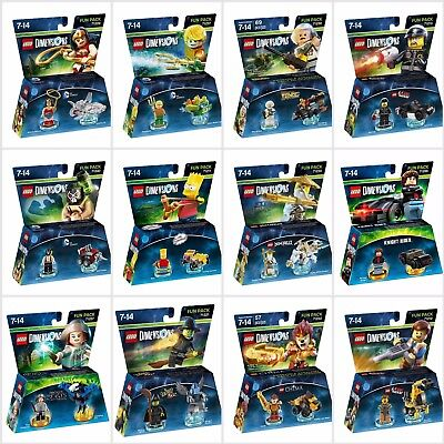 Lego Dimensions: Fun Pack - Ps3 Ps4 Xbox 360 Xbox One Wii U - New & Sealed • 6.95£