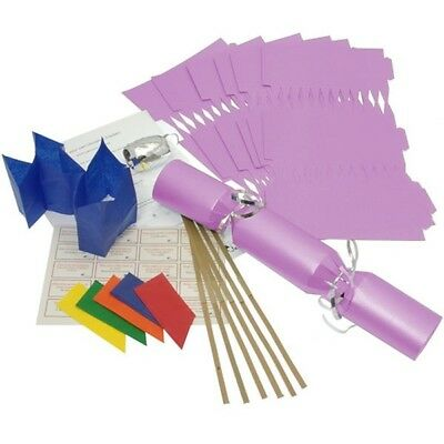 Make Your Own Large 14  Lilac Christmas / Wedding Cracker Kits Crafts • 9.99£
