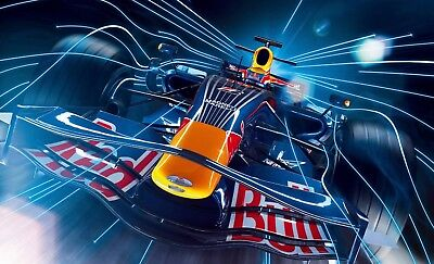 AU19.95 • Buy Red Bull Racing Formula One F1 Poster Length 800 Mm Height: 500 Mm SKU: 9084