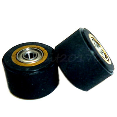 £7.49 • Buy 2x Copper Core Pinch Roller 5mmx11mmx16mm Pinch Rollers Paper Feed Wheel Cutting
