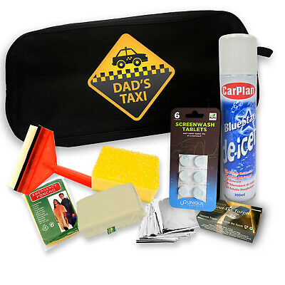 £24.99 • Buy Dads Taxi Christmas Car Winter Kit Gift Set - Best Gifts For Dad - Popular Gifts