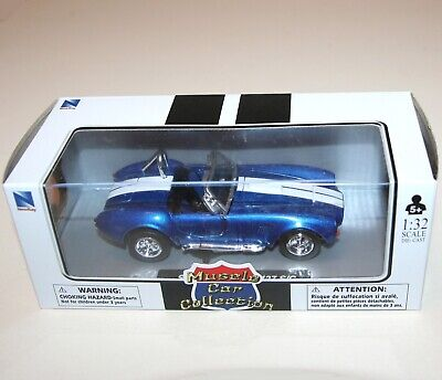 NewRay - SHELBY COBRA 427 S/C (1966) Blue - Model Scale 1:32 • 17.49£
