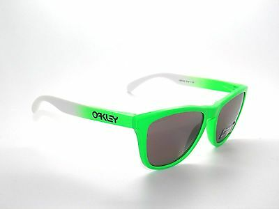 $69.99 • Buy Clearance Oakley Sunglasses Frogskins 9013-99 Green Fade/prizm D Polarized*olymp