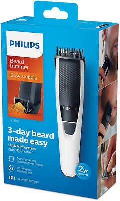 AU47.44 • Buy Philips Cordless Body Hair Beard Trimmer Rechargeable Groomer Clipper BT3206