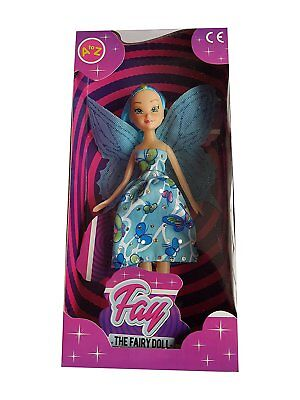 Fay The Fairy Doll Kids Toys | Girls Children Party Bag Filler Toy | Great For B • 5.99£