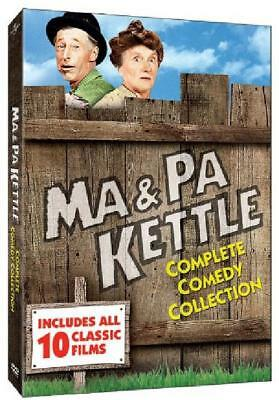 $13.32 • Buy Ma And Pa Kettle Full Complete Comedy Collection DVD Box Set English Language