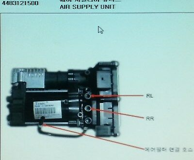 AU2182.95 • Buy Genuine Air Supply Unit For SsangYong REXTON,STAVIC,KYRON +EAS #4483121500