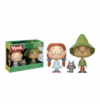 £22.99 • Buy The Wizard Of Oz Dorothy Toto & Scarecrow 3-pack Vynl 3.75   Vinyl Figure Funko