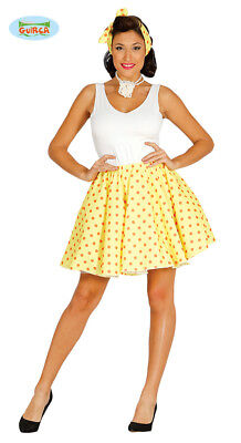 1950s Womens Yellow Pin Up / Housewife Costume • 23.65£