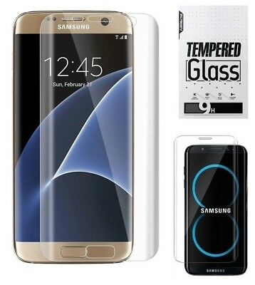$ CDN5.13 • Buy Samsung Galaxy S7 EDGE Tempered Glass Screen Protector 3D Curved Full Coverage