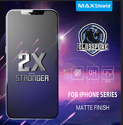 AU9.99 • Buy MATTE TEMPERED GLASS SCREEN PROTECTOR FR IPhone 11 Pro Max XS Max XR 8 7 Plus SE