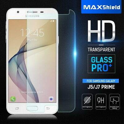 AU6.99 • Buy TEMPERED GLASS SCREEN PROTECTOR FOR Samsung Galaxy J3 J5 J7 Pro 2017 J5 J7 Prime