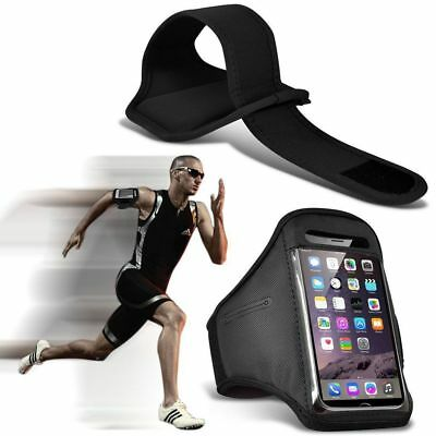 Quality Armband Phone Case✔Sports Exercise Gym Running Fitness Workout✔Black • 4.95£
