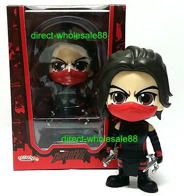 $ CDN22.47 • Buy Hot Toys Daredevil Elektra Cosbaby  Marvel Bobble Head