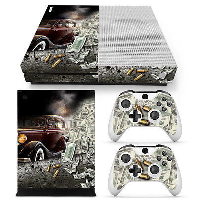 $19.99 • Buy Xbox One S Console Skin Decal Sticker Gangster + 2 Controller Custom Design Set