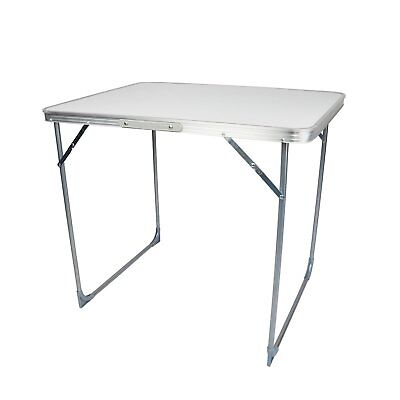 NEW! 80cm Portable Folding Outdoor Camping Kitchen Work Top Table • 17.99£