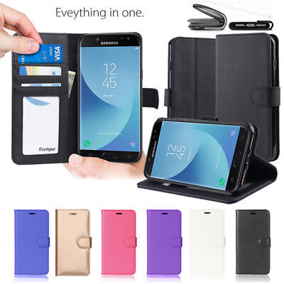 AU9.99 • Buy For Samsung Galaxy J2 Pro / J5 Pro /J7 Pro Leather Phone Wallet Flip Case Cover