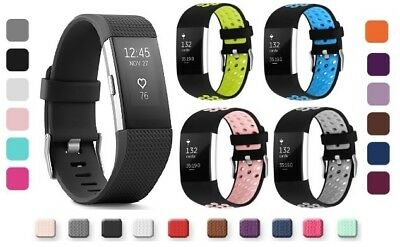 $ CDN7.46 • Buy Fitbit Charge 2 Replacement Wrist Bands Smart Watch Bracelet Bands - 2 Designs