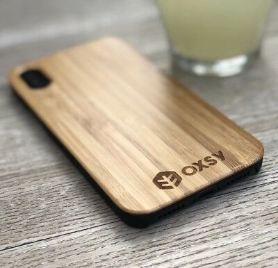 IPhone X / IPhone 10 Wooden Bamboo Case | OXSY • 13.50£