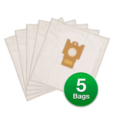 Replacement Type G/N Poly Wrapper Vacuum Bags For Miele Olympus S2121 • 9.40£