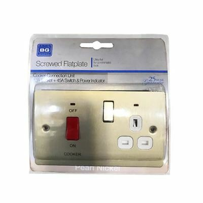 £5.99 • Buy Connection Unit Socket + 45a Switch Power Indicator Spr70w Bg