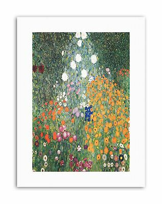 $ CDN21.61 • Buy GUSTAV KLIMT FLOWER GARDEN 1907 Poster Painting Old Master Canvas Art Prints