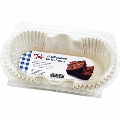 Tala 1 Lb Siliconised Greaseproof Loaf Tin Liners • 10.55£
