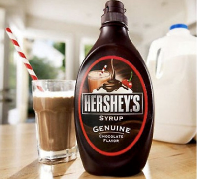£9.99 • Buy Hershey's Chocolate Flavour Syrup 🇺🇸 Large Bottle 1.36Kg Fat Free 😋