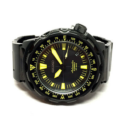 $ CDN751.54 • Buy SEIKO LAND MONSTER Auto Date 20BAR Size 45mm Black Color Dial Display Date
