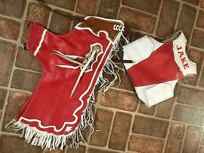 $250 • Buy Cowboy Chaps And Protective Vest (Boys Size 7)