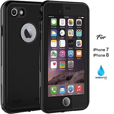 AU23.82 • Buy IPhone 8 Case Full Body Waterproof Cover With Screen Protector For IPhone 7 & 8