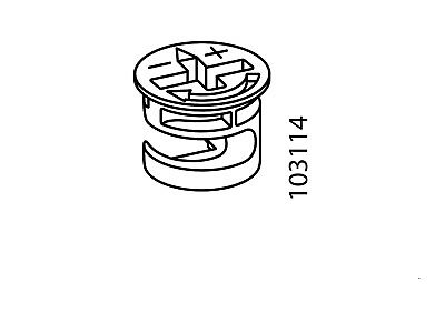 12 Ikea 103114 Cam Lock Nuts Fits Ikea Furniture  Hemnes Daybed  • 6.94£